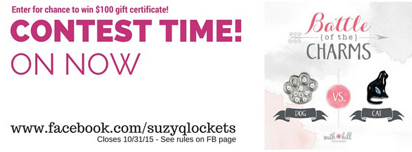 Cats vs dogs contest time suzy q lockets
